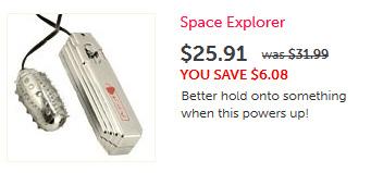 Space Explorer Vibrator