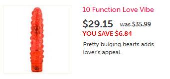 10 Function Love Vibrator