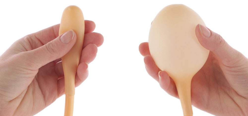 Inflatable butt plug for beginners