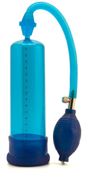 Blue Penis Pump