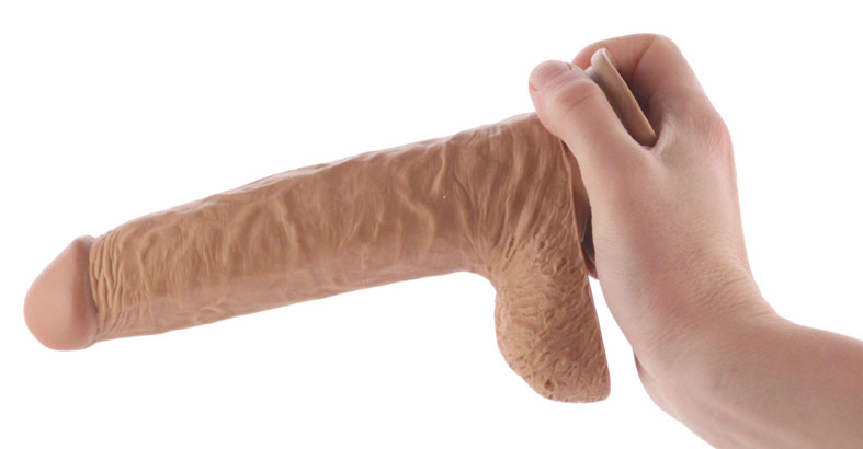 Suction Cup Dildo with handle
