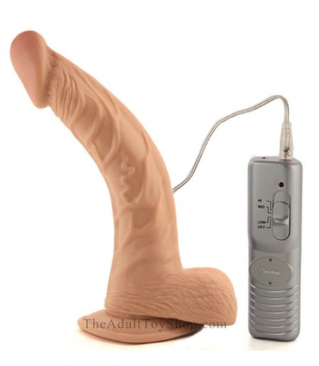 Large Curved Vibrator with controller