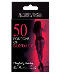 50 Positions Of Bondage Card Game