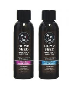 Hemp Seed Natural Massage Oil