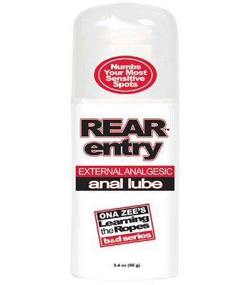 Rear Entry Numbing Lube