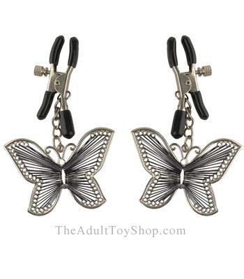 Butterfly Nipple Clamps in a pack of 2