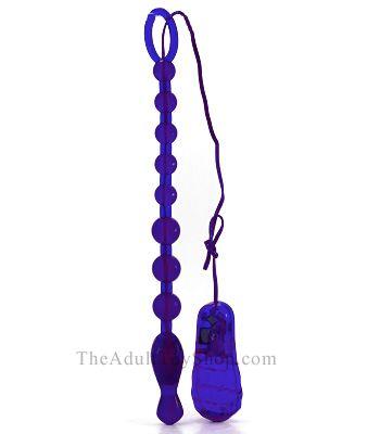 Vibrating Male Anal Beads
