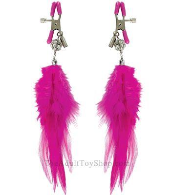 Pink Fancy Feathers