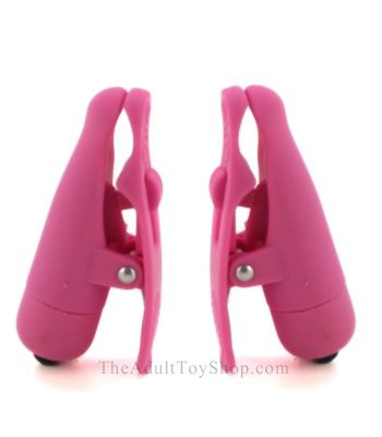 Wireless Vibrating Nipple Clamps for Women