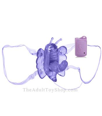 Remote Control G Butterfly Vibrator with hands free operation