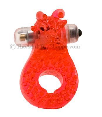 Silicone Bull Vibrating Cock Ring 1