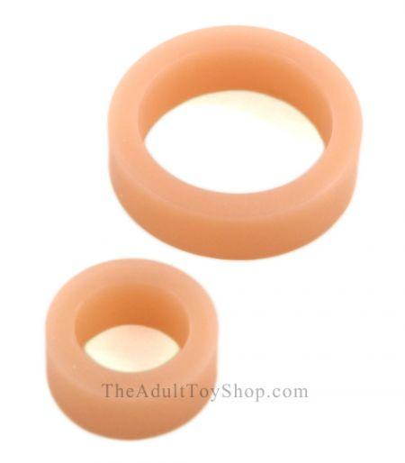 Platinum C-Rings silicone penis bands