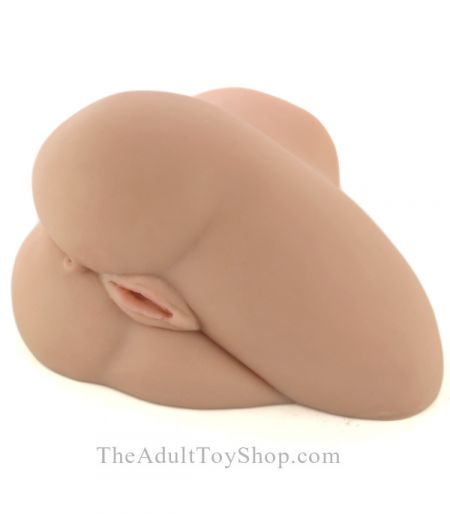 Side Saddle Vibrating Pocket Pussy and Ass