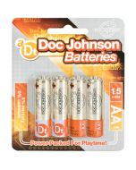 Doc Johnson Batteries AA - 4 Pack