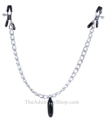 Heavyweight Weighted Nipple Clamps chain
