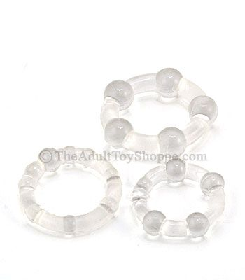 Silicone Island Cock Rings - top