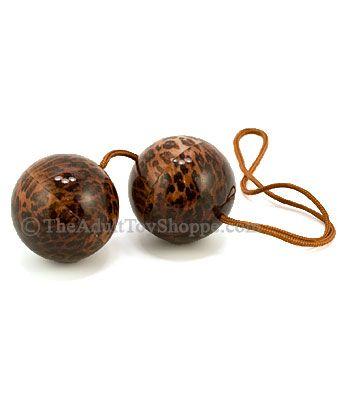 Leopard Pleasure Balls top