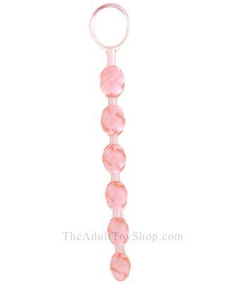 Swirled Gel Anal Beads