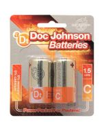 Doc Johnson Batteries C - 2 Pack