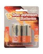 Doc Johnson Batteries C - 2 Pack