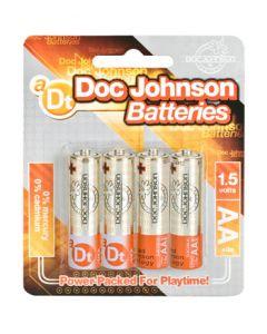 Doc Johnson Batteries AA - 4 Pack