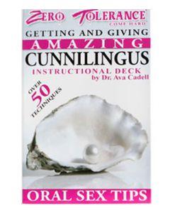 Cunnilingus Cards