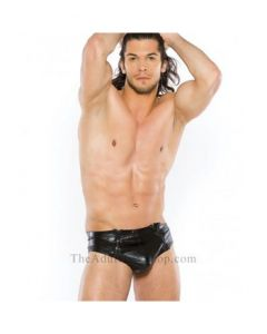Men's Wet Look Brief