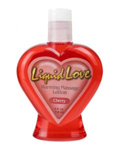 Liquid Love Warming Lotion Assorted Flavors 4 oz