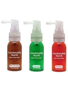Numbing Deep Throat Spray Asst. Flavors