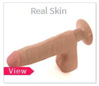 Real Skin Vibrating Dildos